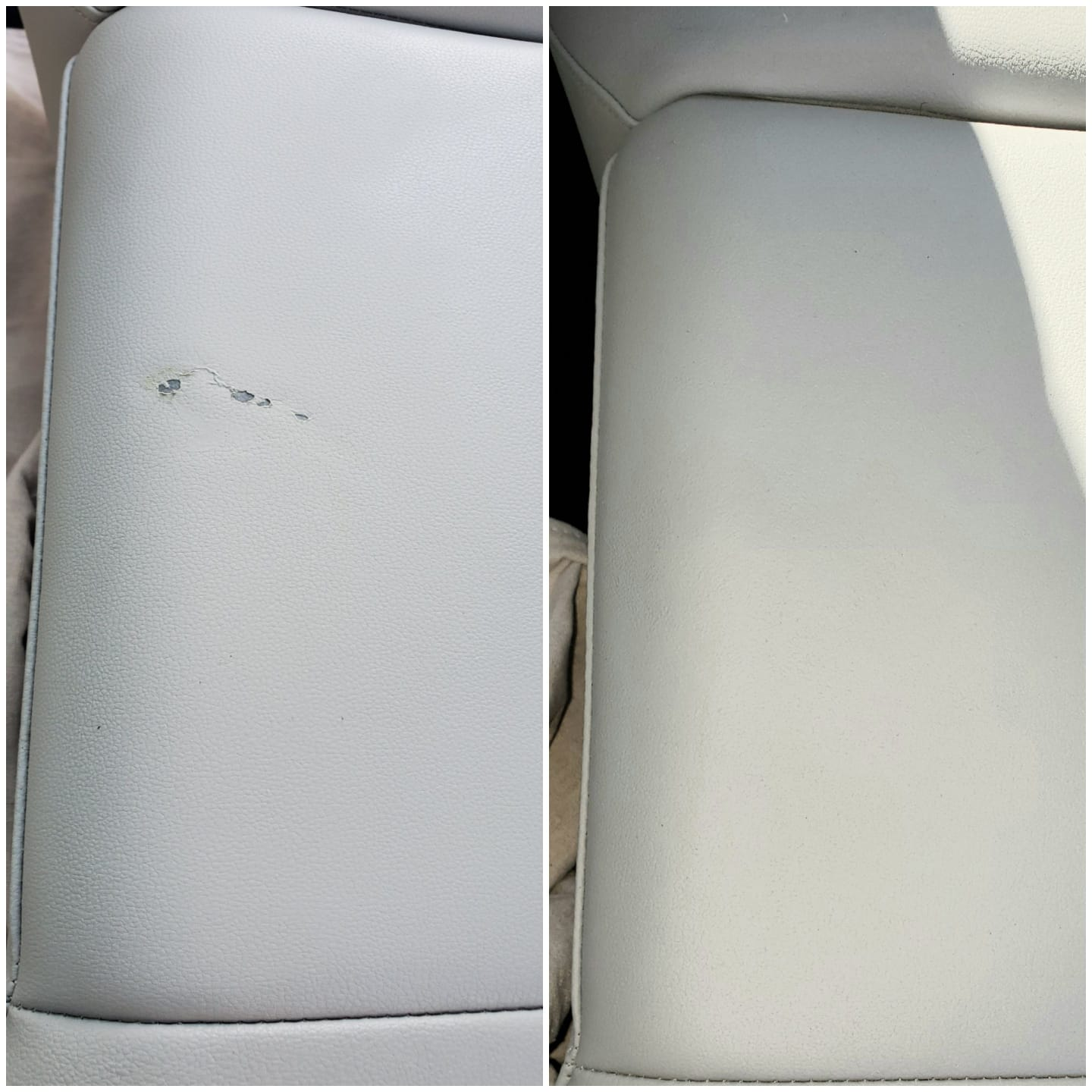 Volkswagen Atlas - rear seat repair